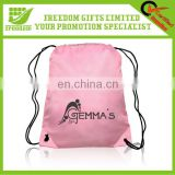 Promotional Logo Personalized Drawstring Bag