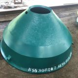Cone Crusher Wear Spare Parts GP300s Bowl Liner Apply to Nordberg Crusher