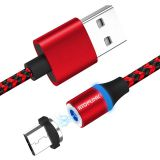 Mobile Phone Accessories Magnetic USB Data Charging Cable for TYPE C MICRO USB AND IOS