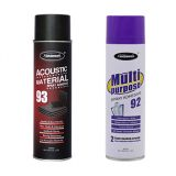 Acoustic insulation materials bonding spray adhesive
