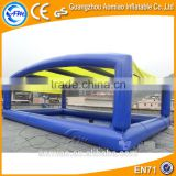 Customized inflatable floating tent/inflatable pool covers/inflatable pool float
