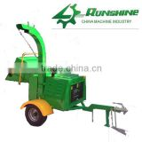 Runshine CE approved DWC22 diesel garden shredder