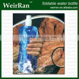 (4691) plastic foldable water cute drink bottle, food grade sprayer