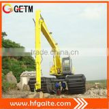 Premium amphibious excavator with 3 rows of Chain