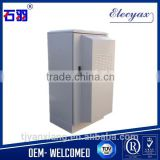 Carbon steel enclosures network cabinet solutions/SK-65125 outdoor telecom cabinet with heat exchanger