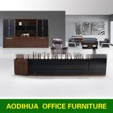 2015# New arrivel Foshan Shunde mirrored furniture modern executive desk/antique wood office desk furniture KF-A08