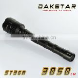 DAKSTAR ST36A CREE XML LED 3050LM 18650 Rechargeable Superbright Emergency T6 Aluminum Hunting Flashlight