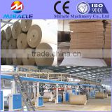 Corrugated carton factory to make corrugated fiberboard process machine for sale