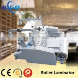 Single And Double Sides Protective Film Laminating Machine With Steel and Silicon Roller