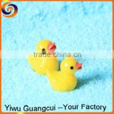 2015 Ecological Bottle cartoon mini resin duck figurines toy