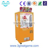 arcade coin operated key point gift vending machine