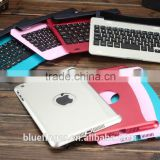 Hot selling Bluefinger keyboard case cover for iPad Mini with detacable cover,calmshell keyboard,