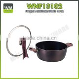Hard anodized Aluminium camping nonstick cookware