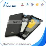 Original and brand new full housing for Sony S39h, battery door+middle housing+front housing