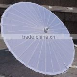 Promotion quality new design wedding parasol umbrella and fan
