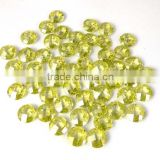 AAA Beautiful Natural Lemon Topaz Cubic Zirconia CZ Loose Gemstone Beads Bead Cabs 6mm, 8mm, 10mm Round Briolette handmade beads