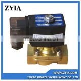 Low price brass body 2/2 Way 3/4 inch 24vdc solenoid valve