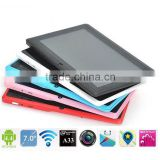"Pink For Android 4.4 With GPS WIFI Phone Bluetooth 7"" Tablet PC"