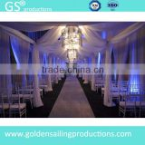 Aluminum portable pipe and drape kits for decoration                                                                         Quality Choice