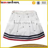 2016 children clothing latest design skirt white young school girl short skirt                                                                                                         Supplier's Choice