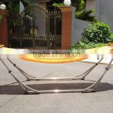 Foldable VIP2 hammock stand, in stainless steel