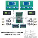 Microcomputer controller for fuel dispenser
