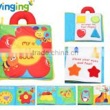 wholesale china educational toy baby cloth book Baby Book