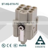 HQ series electrical terminal block two ways plastic types of cable joints connectors                                                                         Quality Choice