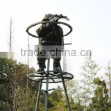 Hunting tripod tree stand/hunting treestand/shooting ladder tree stand                                                                         Quality Choice