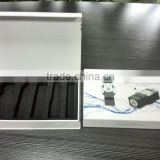 custom shaped set gift box for design power bank pen usb and multifuncation cable together in one