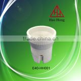 E40 lamp socket Haohong porcelain lamp holder/lamp base/light accessory/ceramic lamp holder/ manufacturer/lamp socket