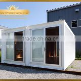 iPrefab--BCKPRS-M6 2016 Convenient Mobile foldable exhibition container tent booth sunroom