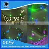Nightclub NEW custom laser LED stainless steel dance stage
