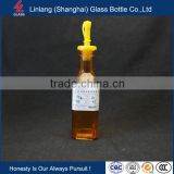 Professional Top Grade Milk Thistle Oil Glass Bottle