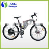 26'' aluminum alloy frame electric mountain bicycle