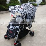 New European Fasion baby doll twin strollers