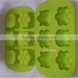 Flexible Nonstick Delicate Silicone Molded Bakeware For Baking