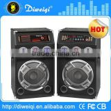 2.0 professional stage party dj speaker with ball led usb/sd/fm USB/SD/FM/ ( bluetooth function optional)