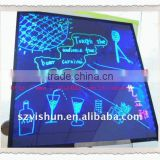 LED fluorescence writing board