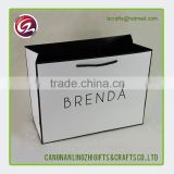 Customized Logo recyclable Art fashion paper bag                                                                                                         Supplier's Choice