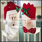 Mr & Mrs Santa Claus Chirstmas Dining Chair Covers