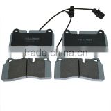OE420698451B GDB1731 high quality China brake pads for AUDI for Lambo gallardo auto spare parts