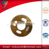 C45 steel high quality motorcycle sprocket rear sets 428H for hot sale