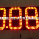 Customed 7 Segment Oil/Gas Station led gas pricers display, LED gas station led price display signs
