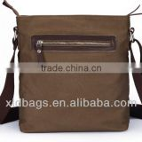 Mens Canvas Travel School Messenger Shoulder Briefcase Cross Body Strap Everyday Use Bag