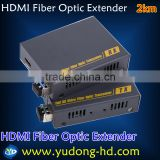 HDMI One Fiber Optic Extender HDMI Fiber Optic Transmission HDMI Extender Over Fiber Optic Cable To Up To 2Km