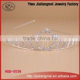 Manufacturers wholesale fashion hair jewelry wedding beauty pageant queen crowns and tiaras for sale OEM&ODM
