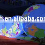 Giant Inflatable Globe Balloon with LED Lights