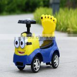 Best gifts for your kids! Mini baby swing toy car new design children manual ride on car