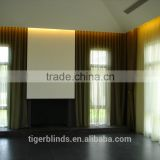 bamboo door curtain